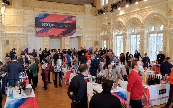 50 bodegas de Rioja se promocionan en Moscú