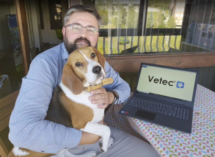 Iñaki Narbona, Vetec: Nace la app para digitalizar consultas veterinarias