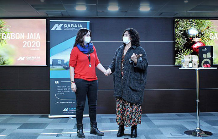 Premio Garaia Empresa Excelente 2020 para Amaia Diaz de Monasterioguren