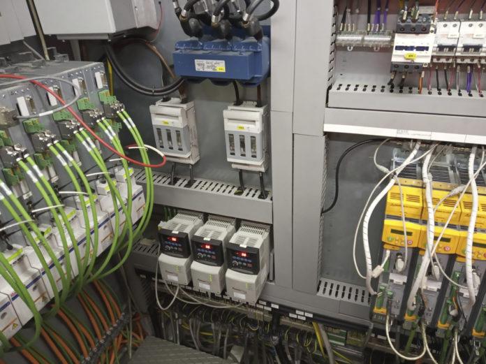 EBI Maquinaria Cableado industria 4.0 industry