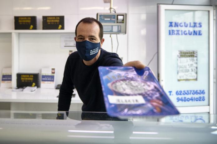 La venta de angulas crece un 50 % en la pandemia